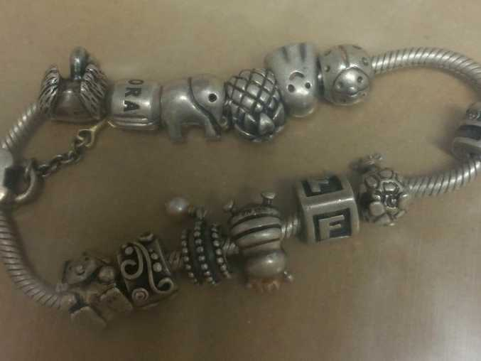 Police are trying to locate the owner of this bracelet found in Crows Nest recently.