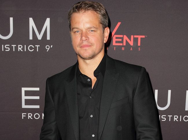 The Martian's Matt Damon