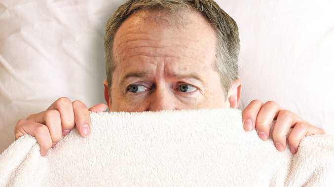 Labor leader Bill Shorten has nightmares of the Turnbull variety. Photo Digitally altered