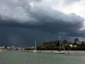 Cyclone, hail to sunshine: Gladstone's craziest 2015 weather
