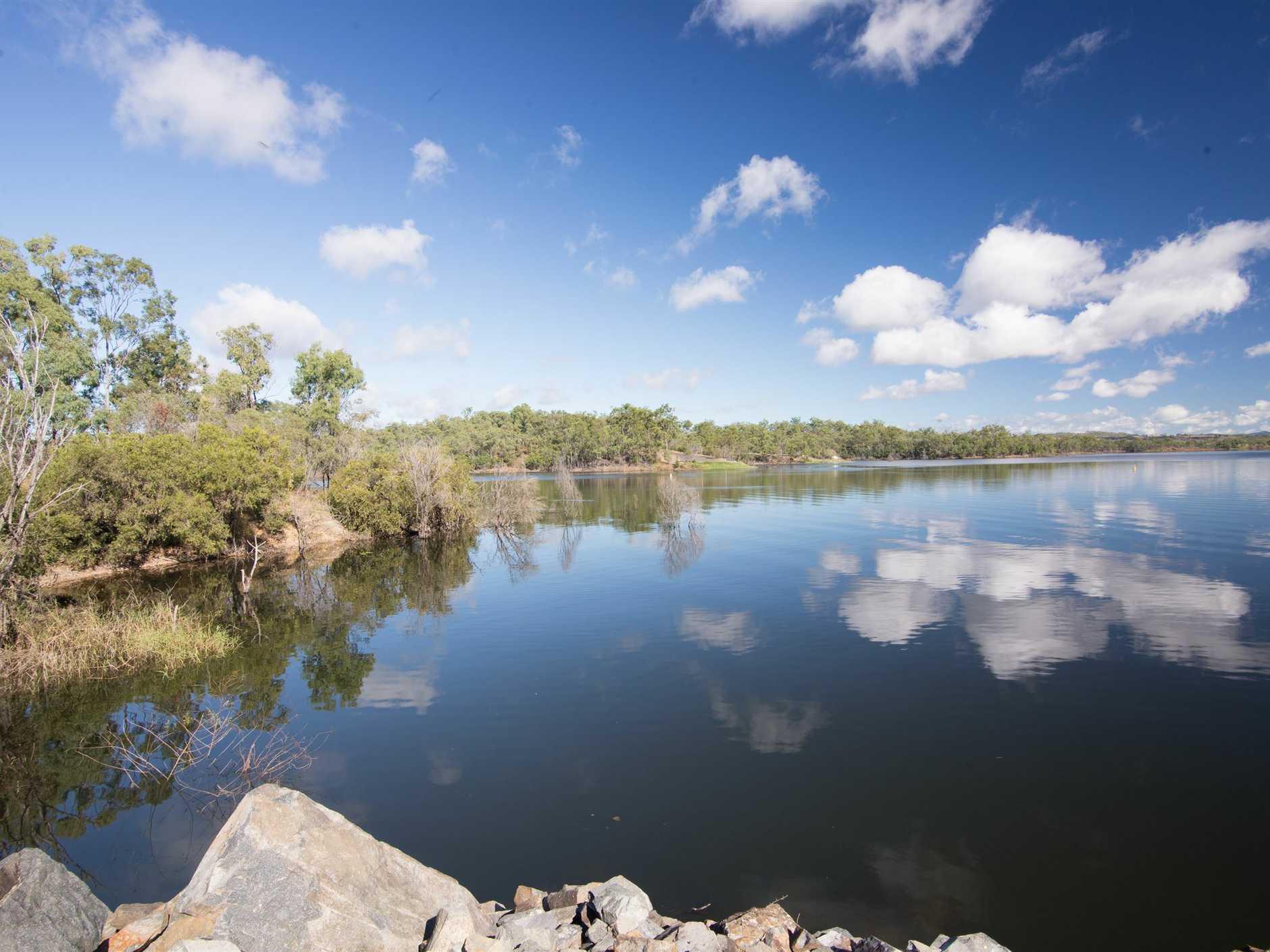 Lake Monduran near Gin Gin