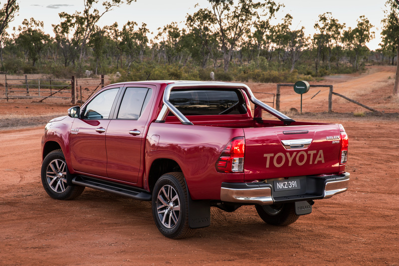 All-new Eighth Generation Toyota HiLux.