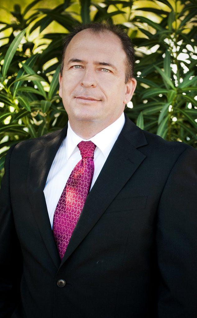 Moreton Resources' CEO Jason Elks.