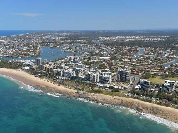 Aerials of the Sunshine Coast taken on Thursday 23 October, 2014 for advertising feature: Mooloolaba. Photo: Brett Wortman / Sunshine Coast Daily