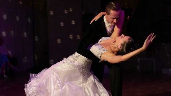 Rhett and Emma Salmon will perform at the Tyalgum Dance Spectacular in October.