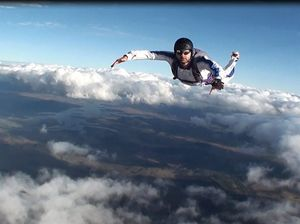 Video: Man does 30th skydive, continues family tradition