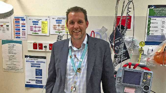 NEW BOSS: Aschleigh Perring is looking forward to his role as the Miles Hospital director of nursing and facility manager.