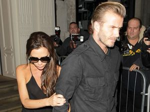 David and Victoria Beckham in 'explosive rows'