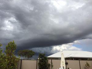 READERS PHOTOS: Rain, hail, rainbows and dusty backyards