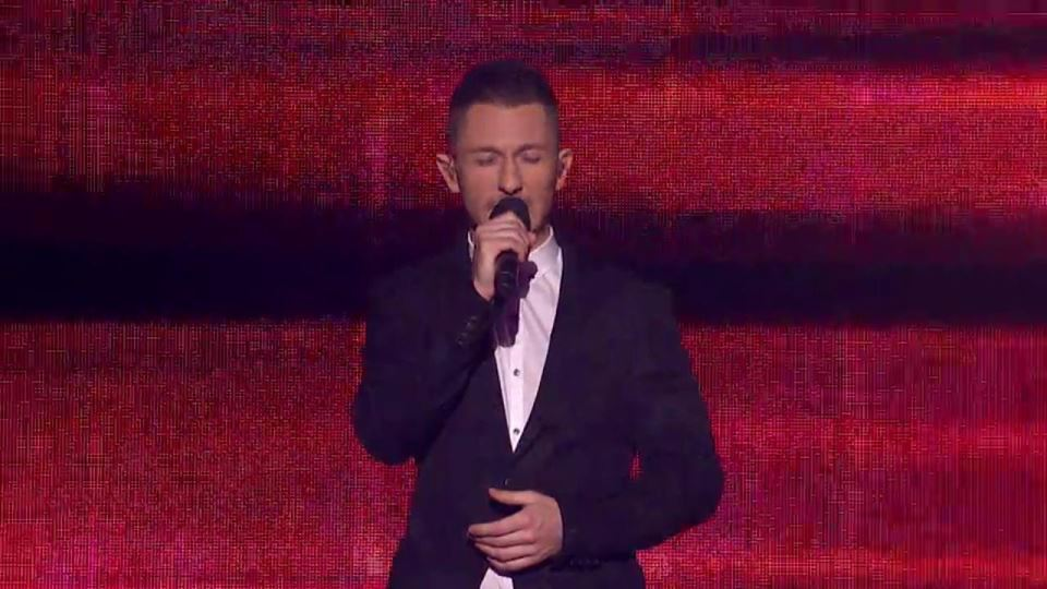 The X Factor Top 12 singer Dan Hamill.