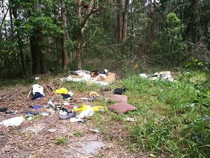 Vacant block in Buderim used as unofficial dumping ground