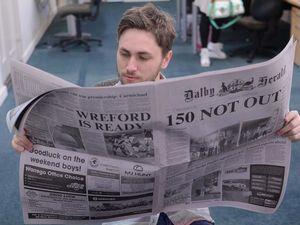 Buy Dalby Herald broadsheet to win holiday retreat