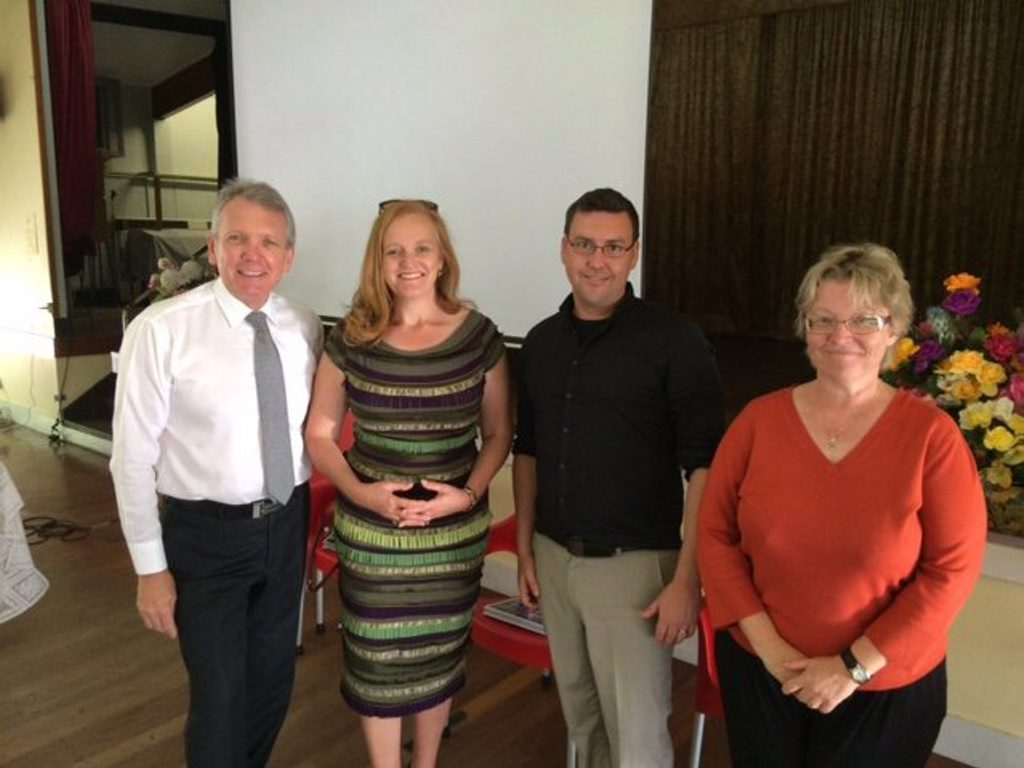 HEALTH EDUCATION: Shadow Health Minister Mark McArdle welcomed experts to the Caloundra Health Forum.