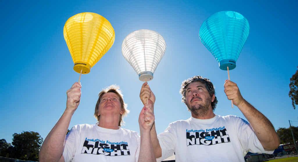 The Leukaemia Foundation's Light the Night walk on October 9.