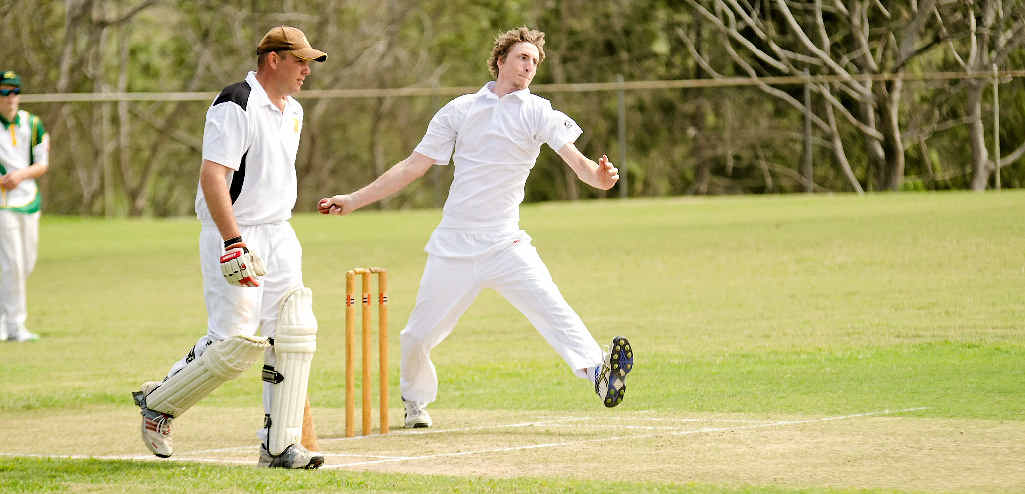 TOP PERFORMANCE: Anthony Brogden took four wickets and found form batting on the second day making 72 runs not out.