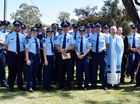 ULTIMATE SACRIFICE: Anakie, Capella, Emerald and Rockhampton police officers represented their regions at the Police Remembrance Day service held at the St Patrick's Church in Emerald.