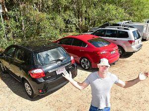 Fancy an $88 hill climb? If not, park carefully at Mt Coolum