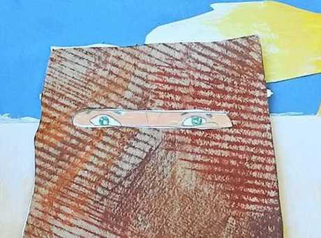 Evan Danson's Ned Kelly, First Prize (8-10 years).Chillingham Public School.