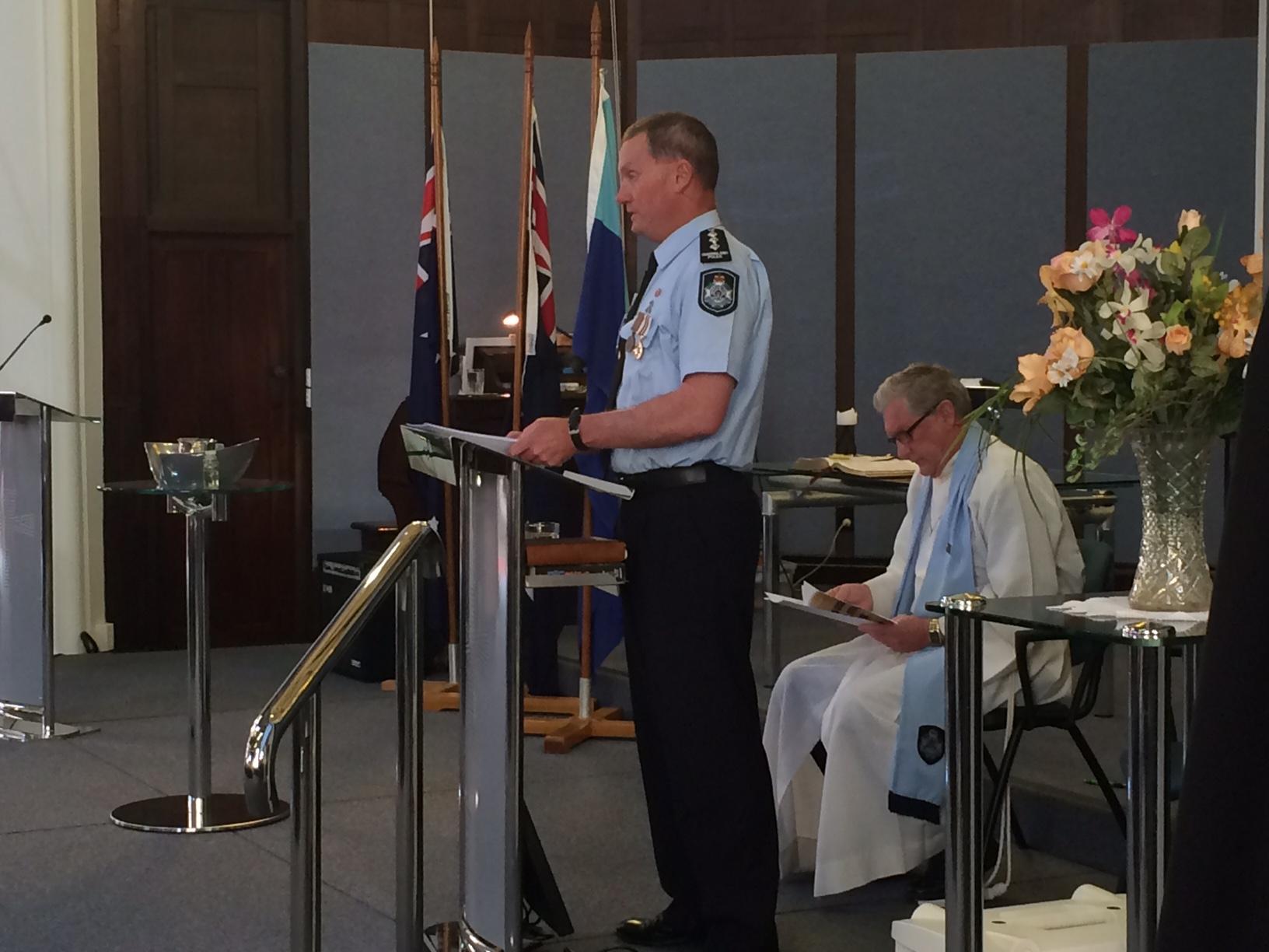Police Remembrance Day Bundaberg 2015.