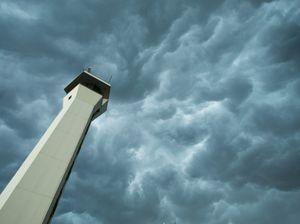Stormy weather turns to Ipswich and Brisbane