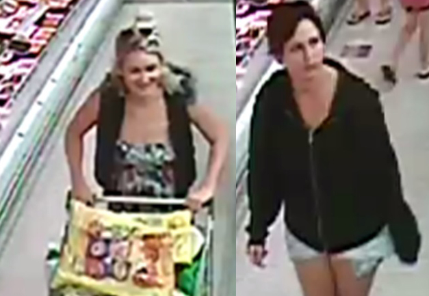 Police want to speak to these two women.