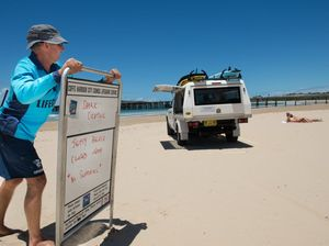 Jetty Beach closed after shark sighting