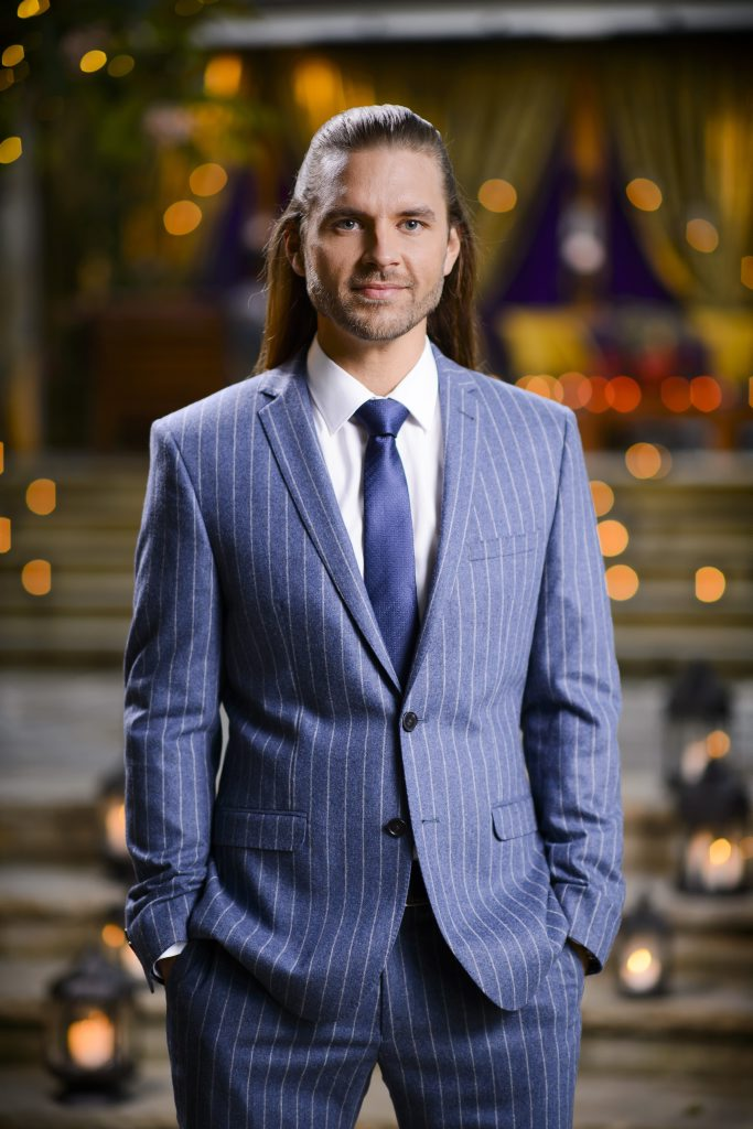The Bachelorette contestant Drew Woolford.