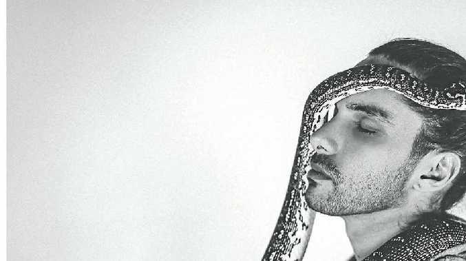 Byron Bay spoken word and hip-hop artist Luka Lesson.