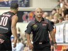 BIG YEAR: Mackay Meteors coach Joel Khalu during the grand final series. The Meteors beat Brisbane Capitals for the championship.