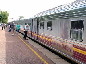 Truck crash derails train and disrupts train and traffic