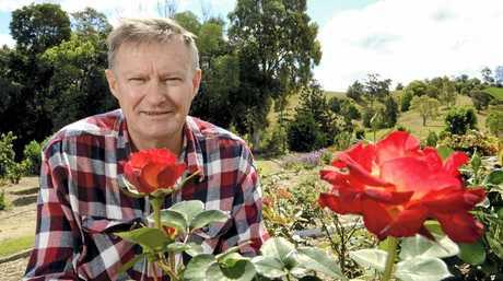President of the Murwillumbah district garden club Wayne Tagget.