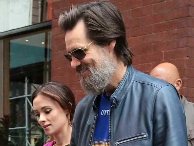 Jim Carrey and late ex-girlfriend Cathriona White