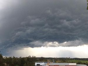 Severe storm warning issued for part of Wide Bay