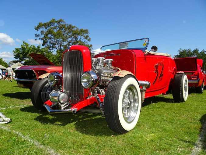1932 Ford Raodster at the Noosa Beach Classic Car Club's annual show at Noosa Heads. Photo: Iain Curry / Sunshine Coast Daily