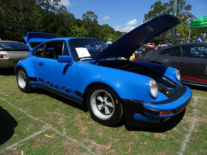 Race-spec 1979 Porsche 911 SC at the Noosa Beach Classic Car Club's annual show at Noosa Heads. Photo: Iain Curry / Sunshine Coast Daily