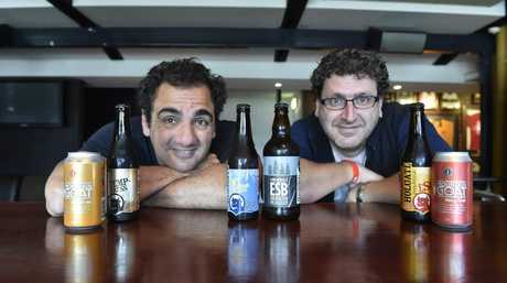 A beer festival will be held in Toowoomba in November. Planning the event are Phil Coorey (left) and Dave Schenk.