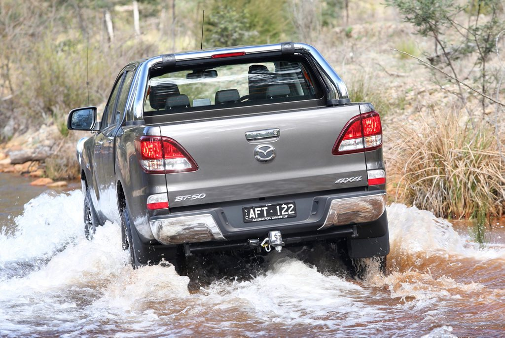 2015 Mazda BT-50. Photo: Contributed