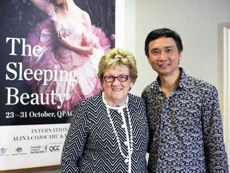 Mary Wagner and Li Cunxin look forward to Family Week celebrations, in particular the Family Week Breakfast on Wednesday October 28 at Wellcamp Airport.