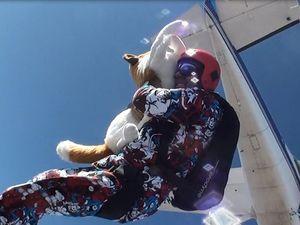Mike Koens 100th skydive