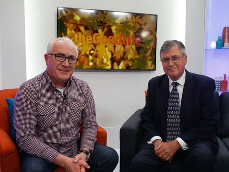 GOOD LIFE: Pete Gatwood and Rod Young on IRT Foundation's new Youtube channel for over 55s, which launches on October 1, 2015. Photo: David Tease