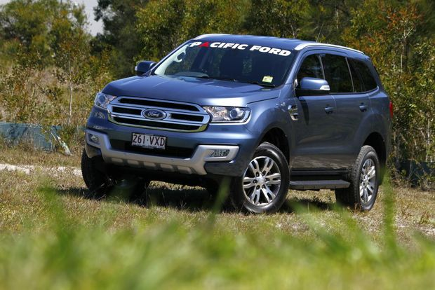 BIG BRUISER: Everest joins the ranks of seven-seat SUV models built on ute underpinnings, in Ford's case the hugely capable Ranger 4x4.