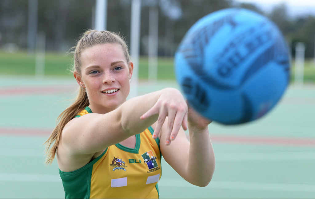 AIMING HIGH: QT/City of Ipswich junior sportstar for July Katrina Smidt.