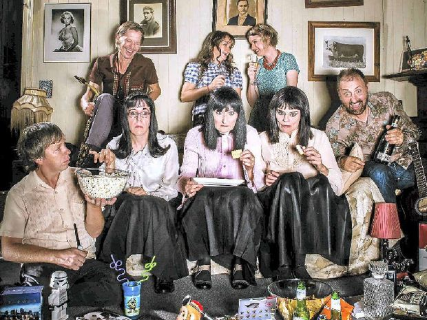 Music troupe Topology have joined forces with the Kransky Sisters in order to treat audiences to their new musical comedy, Tunes From The Tube.