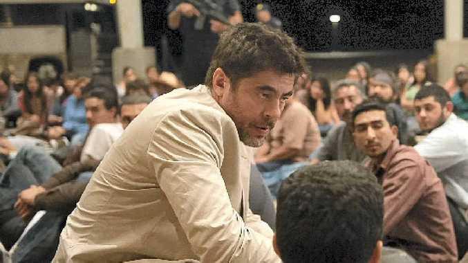 Benicio Del Toro in a scene from the movie Sicario.