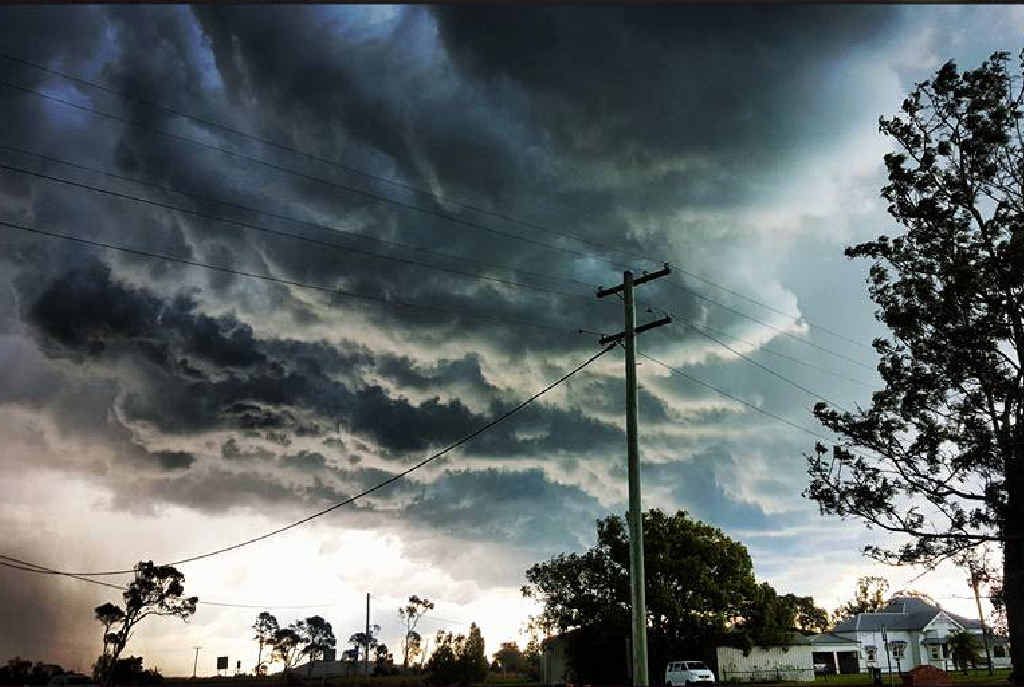 Thunderstorm warning for the Northern Rivers has been issued.