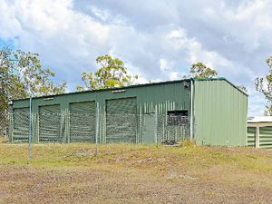 Why is the brand new fire station at Mt Larcom empty?
