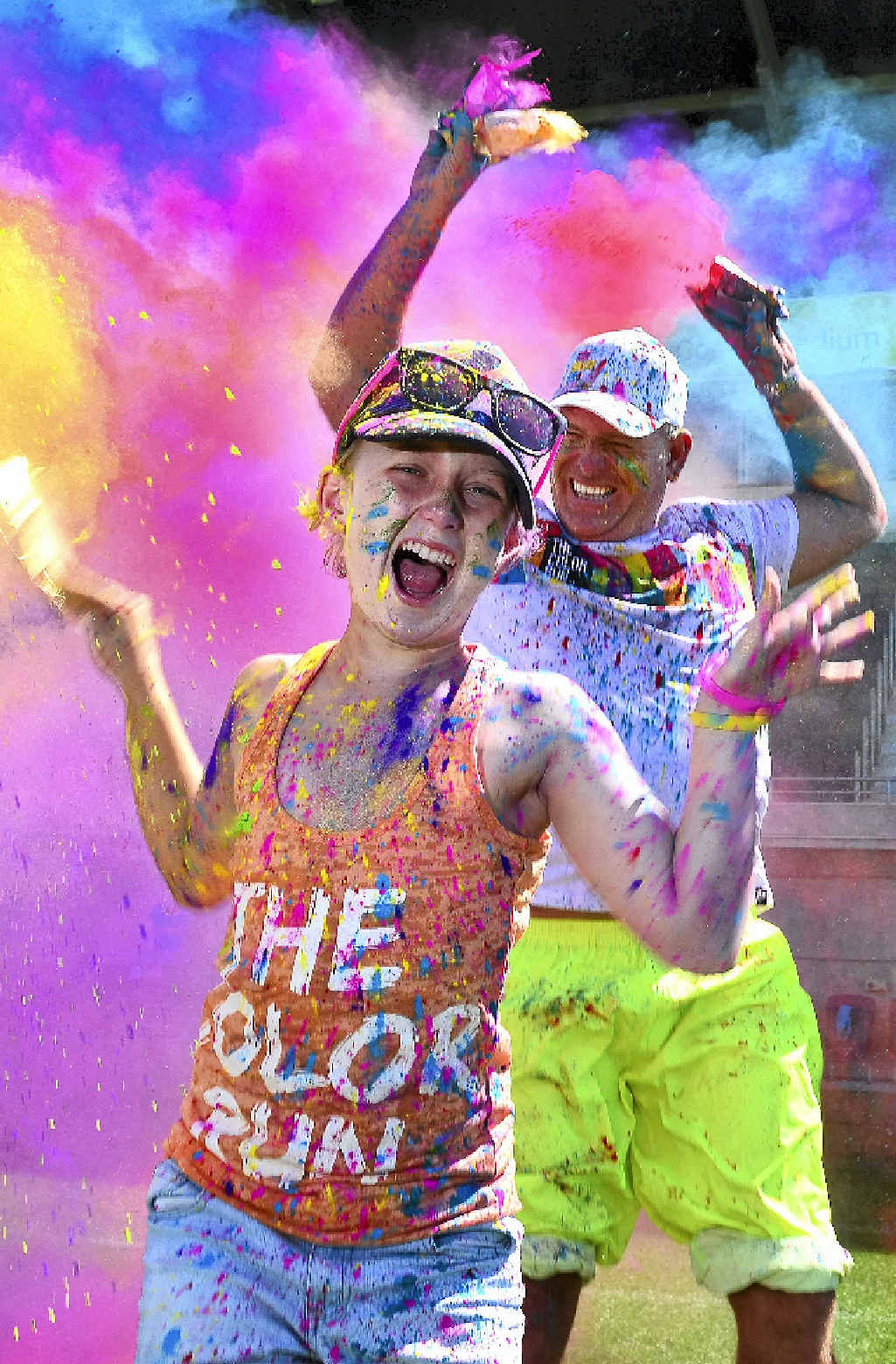 Colour run is on in Gympie this Sunday