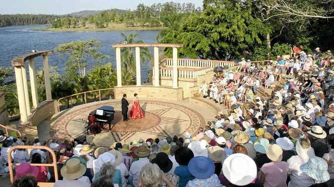 TAKE A PICNIC: Pack your hamper, take a cushion or rug and enjoy a concert in the glorious amphitheatre.