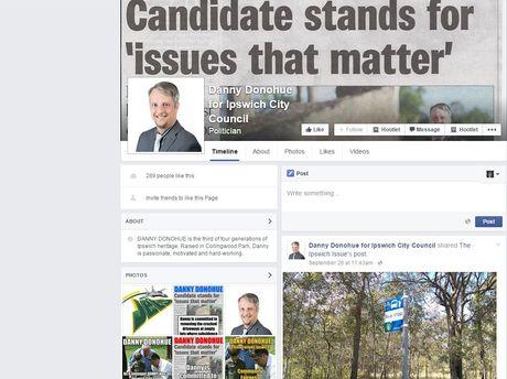 Danny Donohue's Facebook page.
