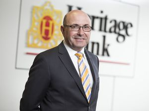 New Heritage Bank boss